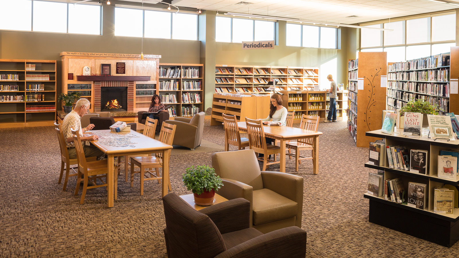 Marshall-Lyon County Library and Children's Wing Addition