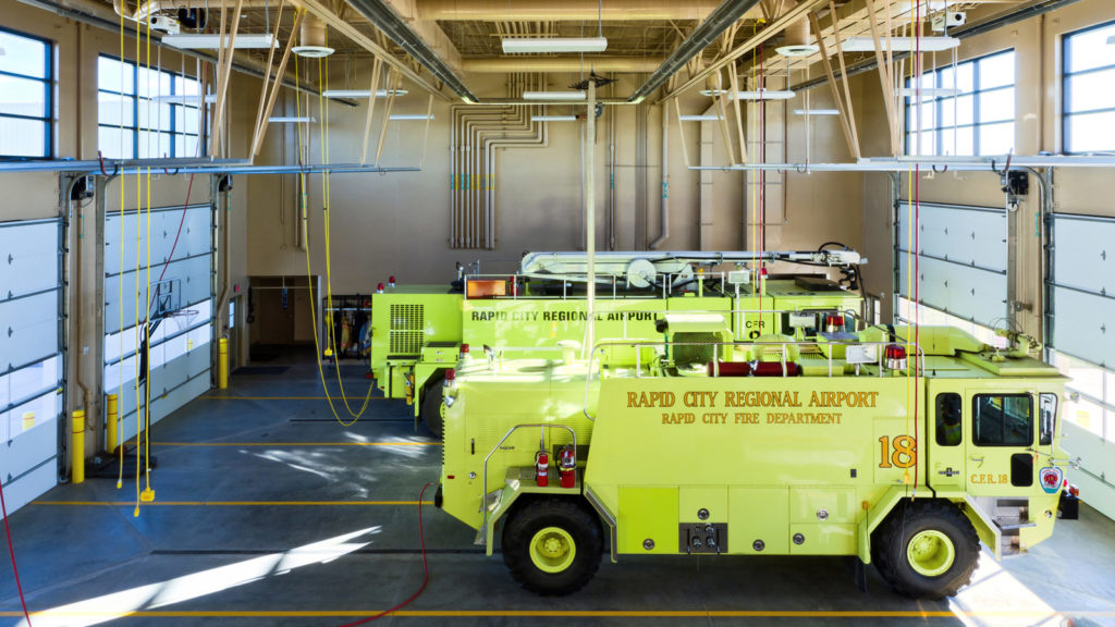 Rapid City Regional Airport Aircraft Rescue and Firefighting Faciility