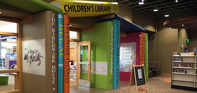 Marshall-Lyon Children's Wing - Books@Entry