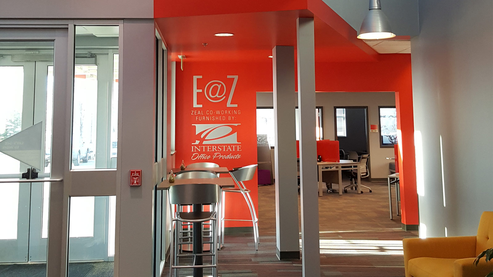Zeal Center for Entrepreneurship Rebranding & Renovation
