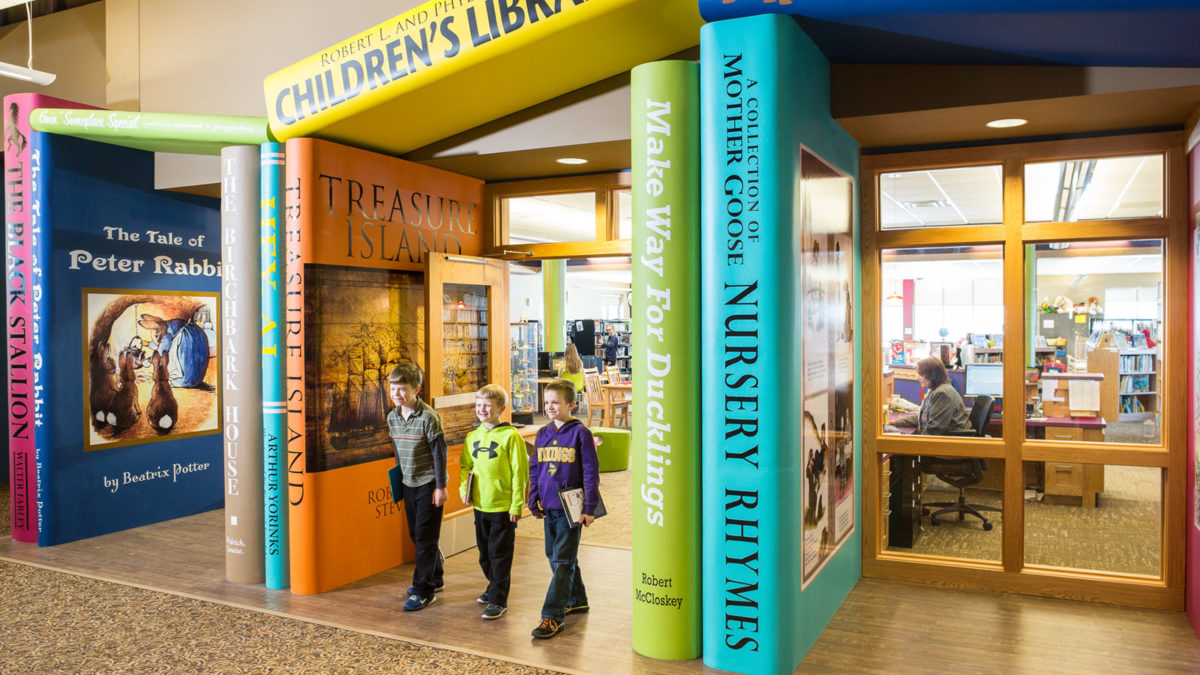 Marshall-Lyon County Library Children's Wing