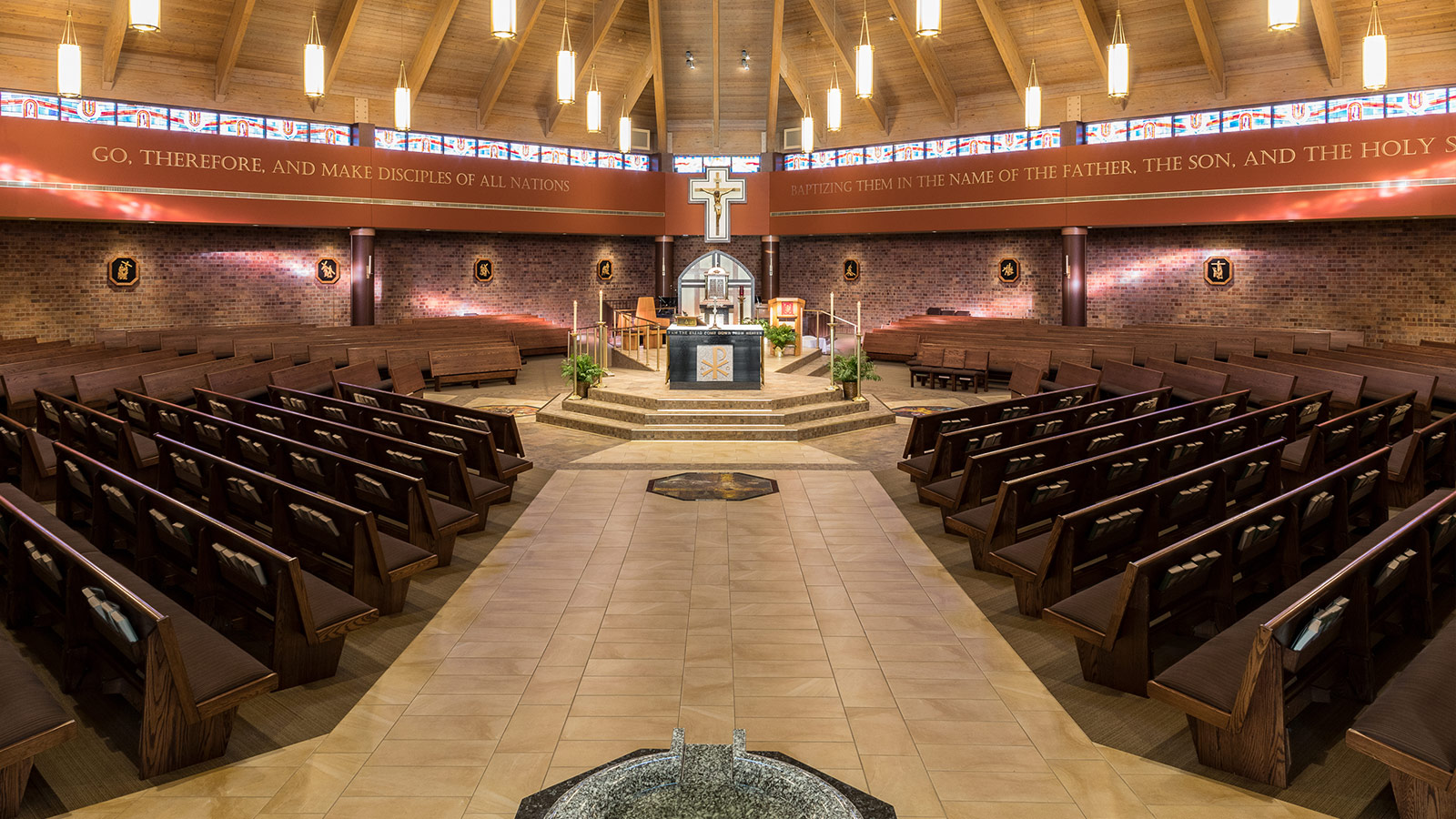 Interior Design Sioux Falls: Holy Spirit Catholic Church Interior Renovations