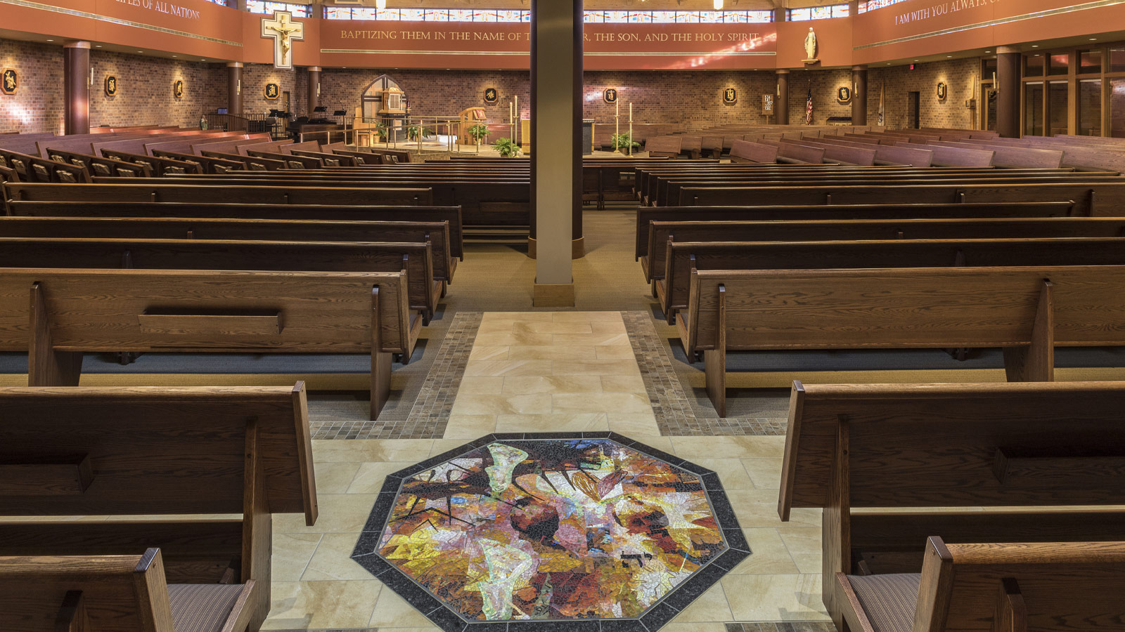 Holy Spirit Catholic Church Interior Renovations