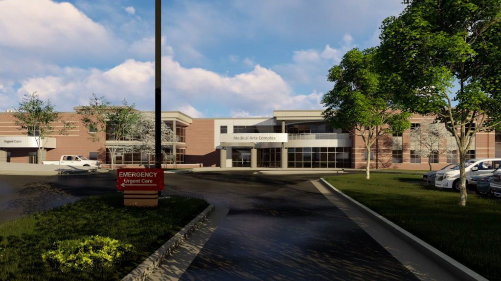 Sheridan Memorial Hospital Outpatient Center Phase II – New Medical Office Building