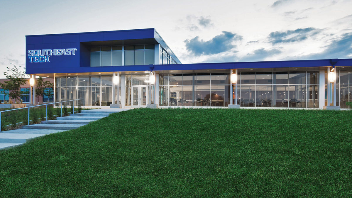 Southeast Tech New Learning Lab & Student 'Hub' Facility
