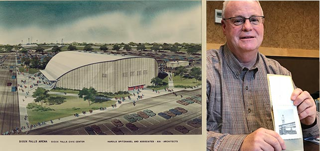 In Sioux Falls Arena, legacy of progress coming full circle