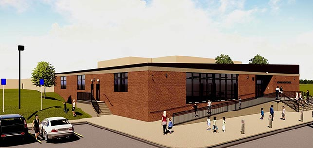 Howard School District Athletic Addition