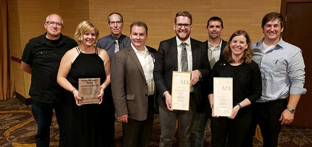 TSP brings home 3 of 7 AIA South Dakota design awards