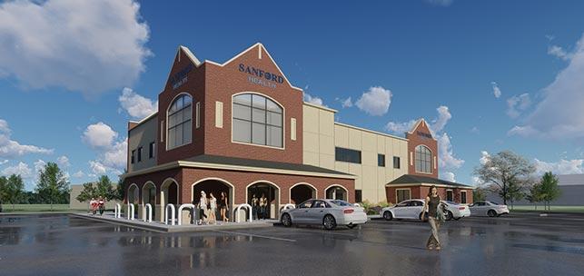 Summit League Office & Sanford Orthopedic Clinic
