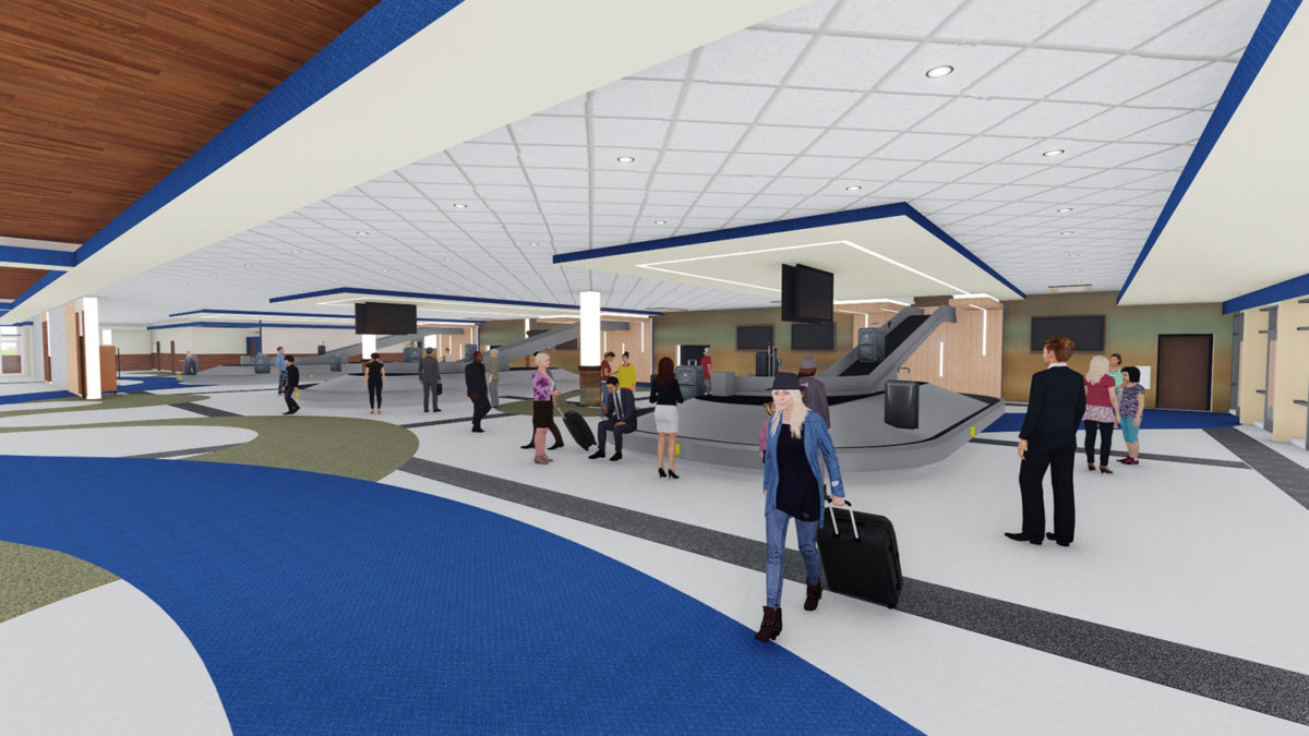 SFRA Baggage-Claim Expansion & Redevelopment