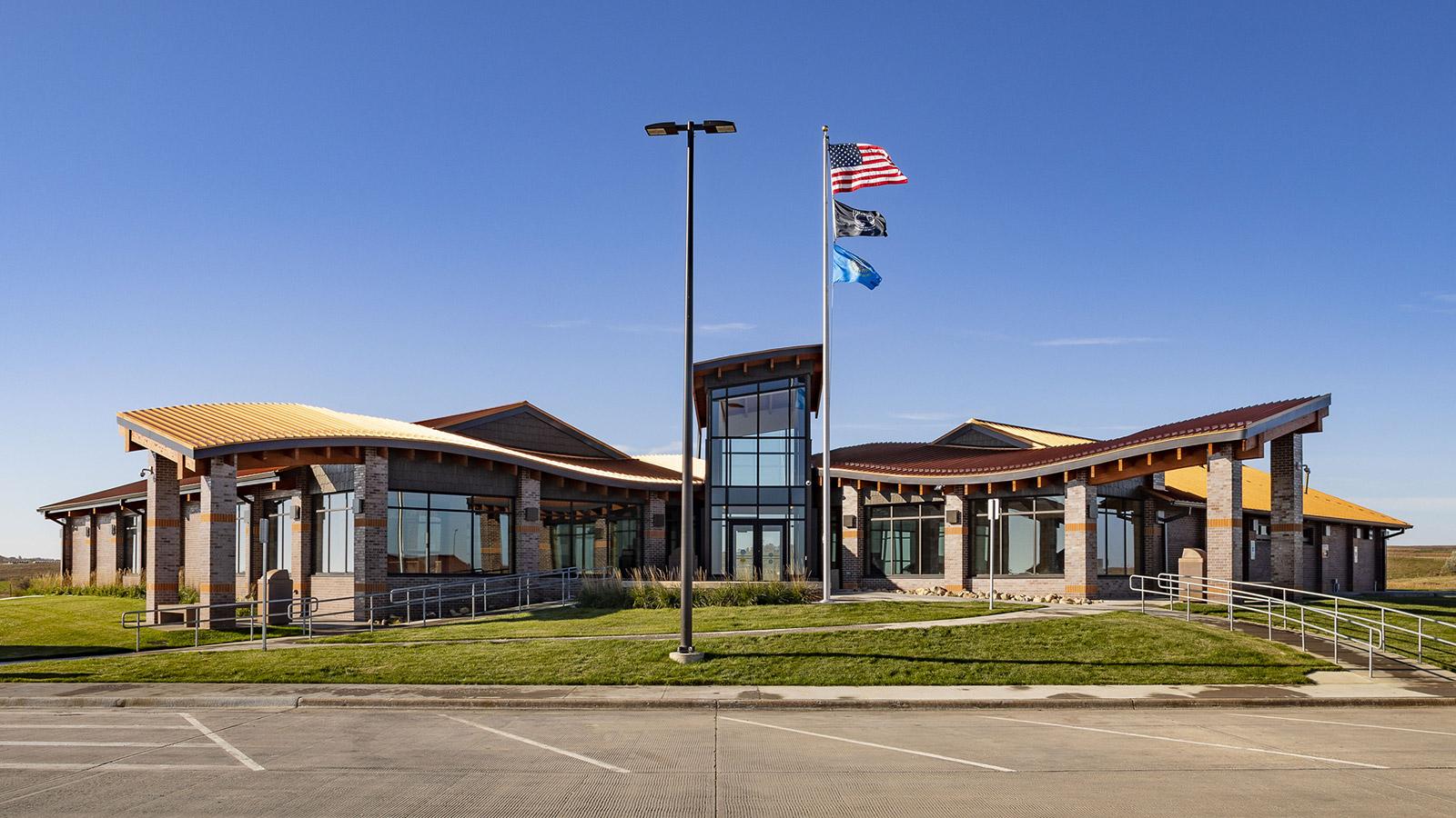 South Dakota Department of Transportation I-29 Wilmot Welcome Center