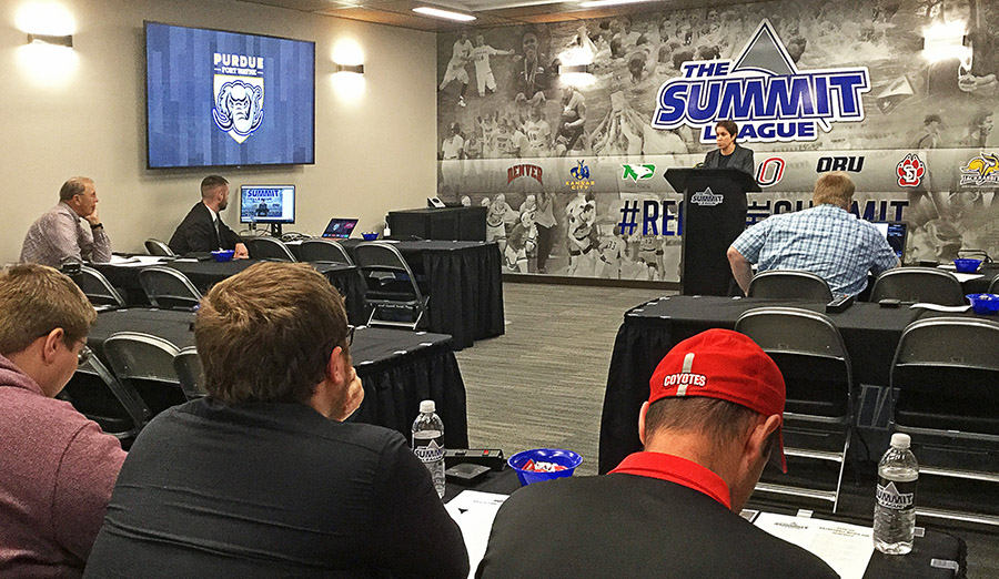 TSP designs Summit League headquarters to celebrate student athletes