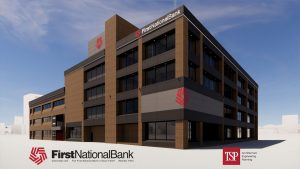 The First National Bank in Sioux Falls Exterior Renovation & Phased Remodel